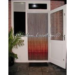 rideau de porte extérieur en aluminium