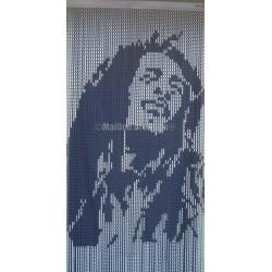 "rideau de porte ""Bob Marley"""