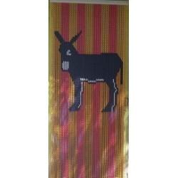 rideau de porte âne Catalan