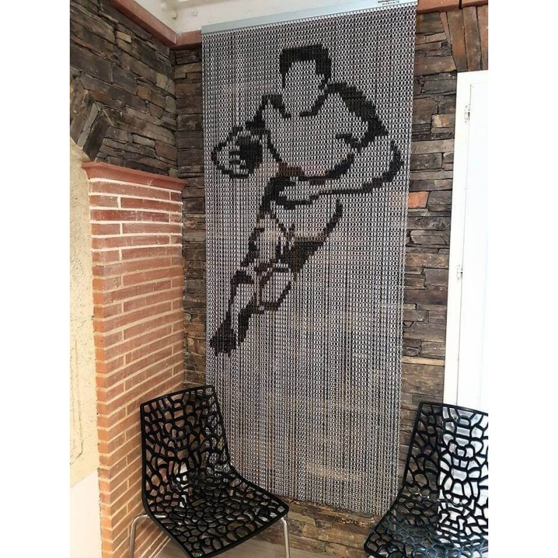 "Door curtain ""Rugbyman"""
