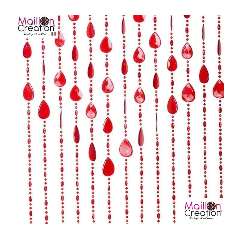 Curtain Beads tassel Morel - 3