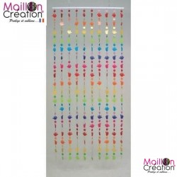 Decorative curtain feet multico Morel - 2