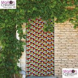 Door curtain c118 Morel - 1