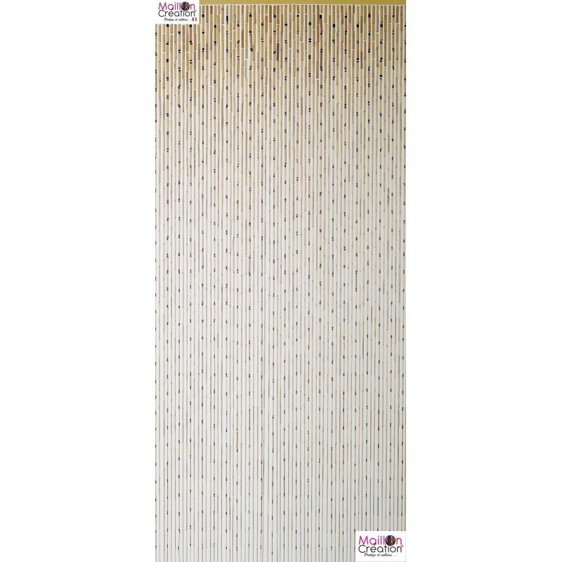 rideau de porte en bambou garrigue