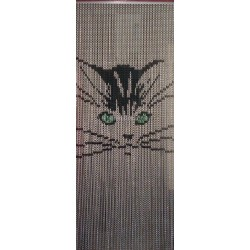 "Door curtain ""Little cat"""