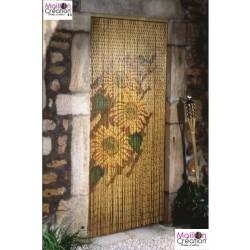 Sunflower door curtain