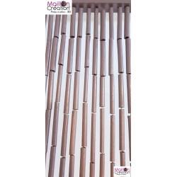 rideau en bambou couleur taupe