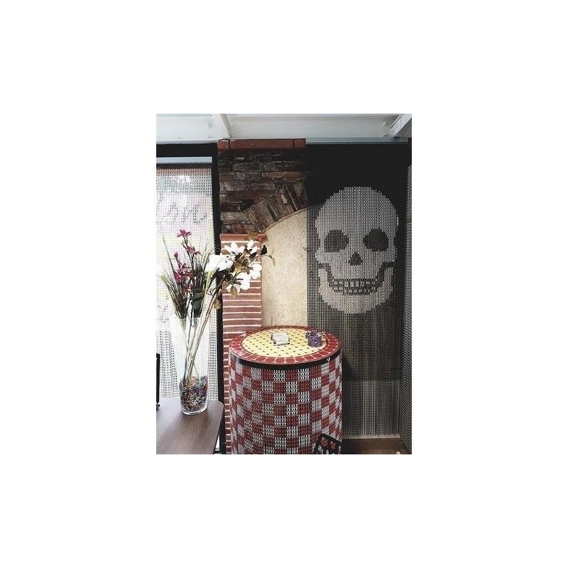 """""""Skull"""" door curtain"""