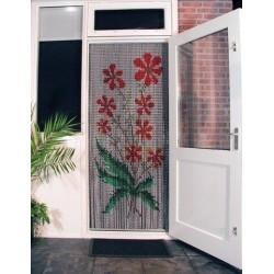 Rideau de porte en chaine aluminium