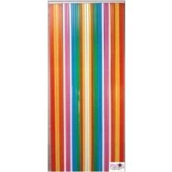 portière plastique multicolore