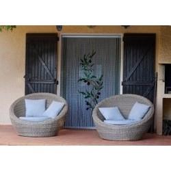 Modèle Serenity rideau de porte en chaînette