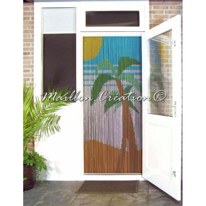 Mosquito net door curtain