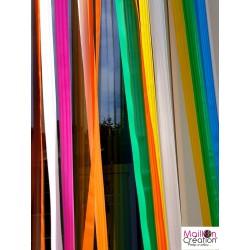rideaux de porte extérieur en plastique multicolore