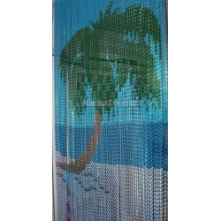 "Door curtain ""Big palm tree"""