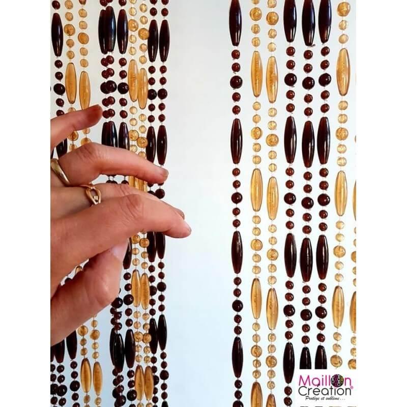 rideau-portière perle