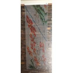rideau MC en chaînette aluminium dessin peinture