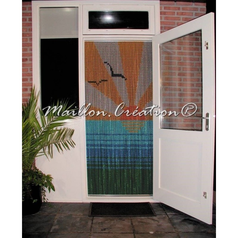 """Sun"" door curtain"