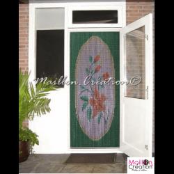 rideau de porte extérieur en chaine alu