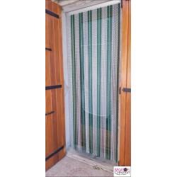 rideau de porte extérieur en chaîne aluminium