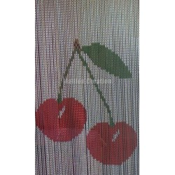 "Door curtain ""Big cherry"""