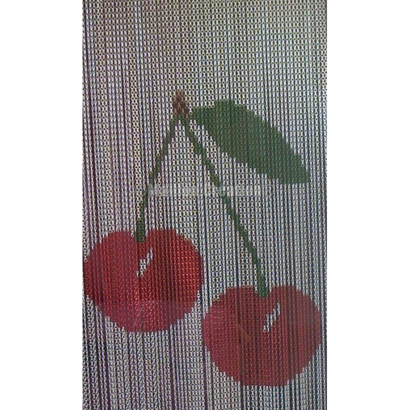 """Door curtain """"Big cherry"""""""