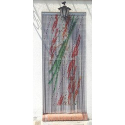 Rideau chaînette anti mouches