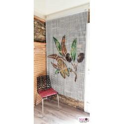 aluminum chain curtain, cicada design