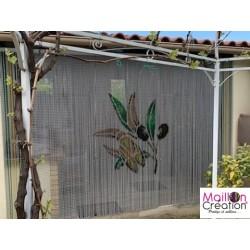 Maillon Création aluminum chain curtain