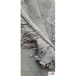 rideau marseillais gris