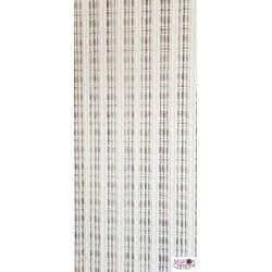 curtain 90 x 210 cm in pearls