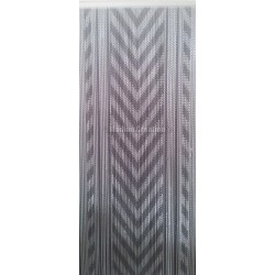 "Door curtain ""Gray chevrons"""