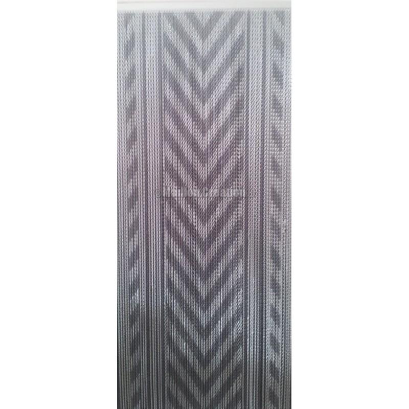 """Door curtain """"Gray chevrons"""""""