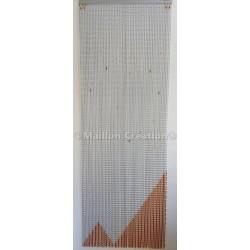 Rideau de porte en maille aluminium