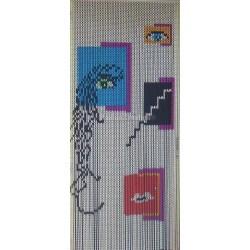 """Door curtain """"Tableau création"""""""