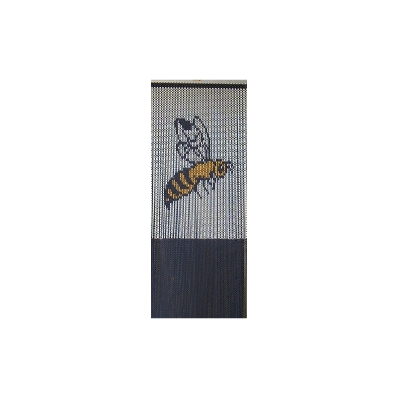 "Door curtain ""Little bee"""