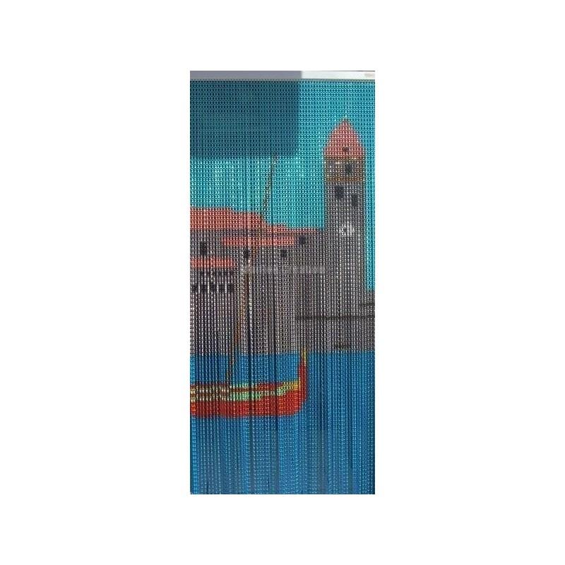 Fabricant rideau de porte chaîne aluminium
