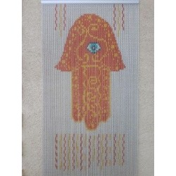 "Door curtain ""The khamsa"""