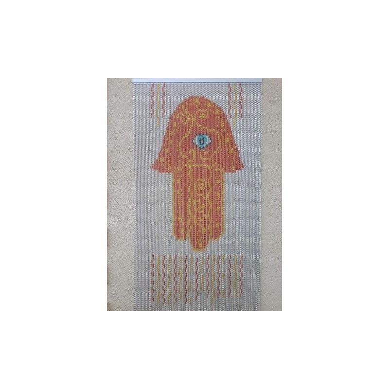 "Door curtain ""The khamsa"""