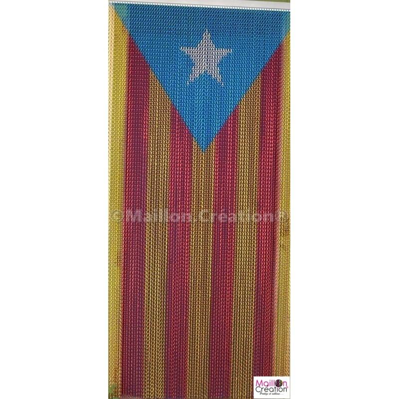rideau de porte catalan