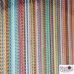 Rideau de porte en chaînette multicolore zoomer