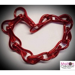 red chain sample for door curtain