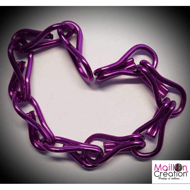 purple chain sample for door curtain