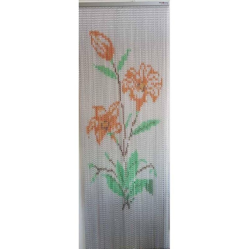 Aluminum chain curtain
