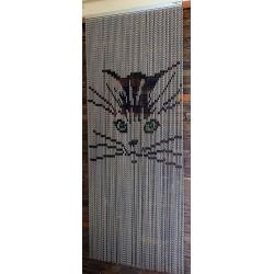 rideau chaînette alu petit chat