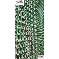 rideau en chaînette aluminium