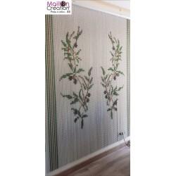 olive chain aluminum chain curtain