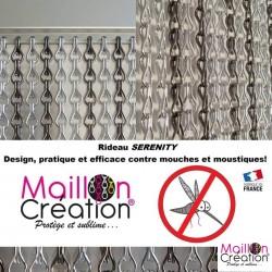 rideau de porte - rideau chainette anti mouches et moustiques