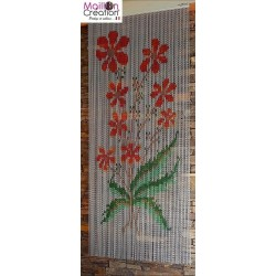Effective aluminum door curtain