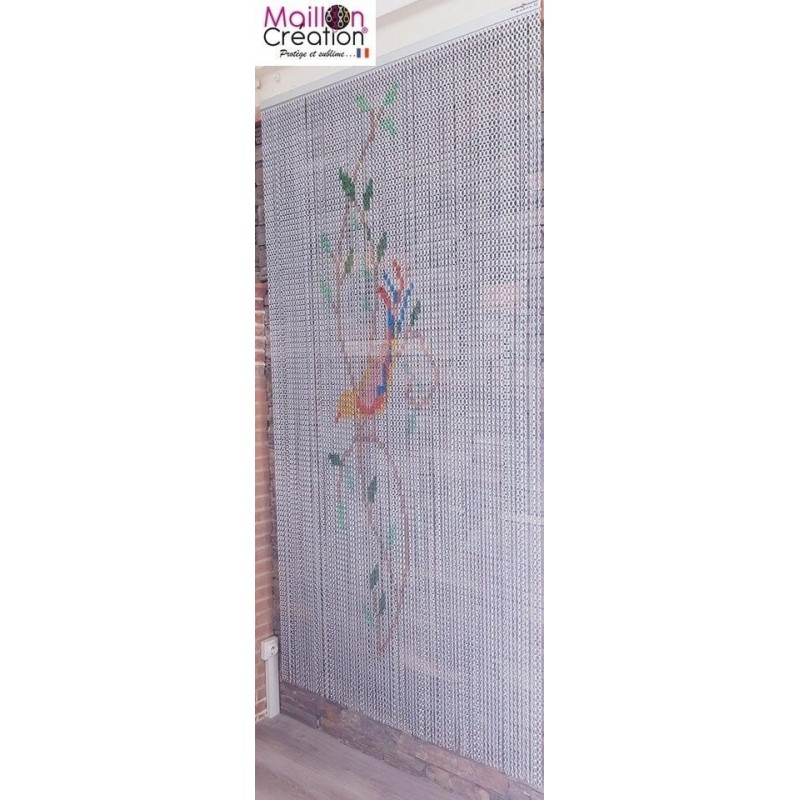anti-fly curtain in aluminum chain