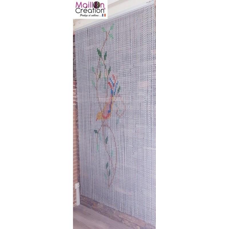anti-fly curtain in aluminum chain